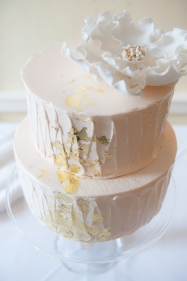 Our amazing cake: chocolate with bourbon caramalized banana and vanilla pastry cream filling!