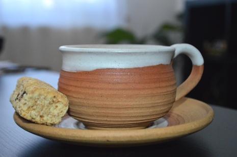 My favorite Namibian treat, with tea.