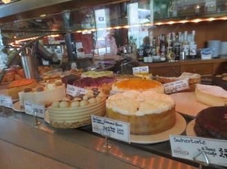 Cafe Kandler cakes