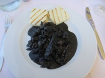 squid cooked in its own ink