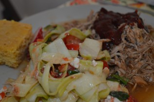 This salad is a perfect side dish for summer BBQ!