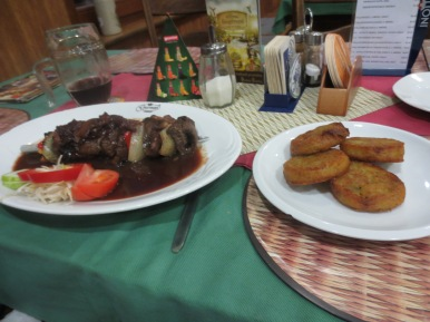 Wild boar with hash browns