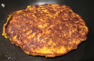 Pumpkin Oatmeal Single Serving Pancakes