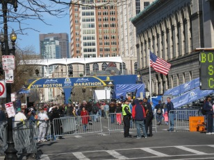 Boston Finish Line!