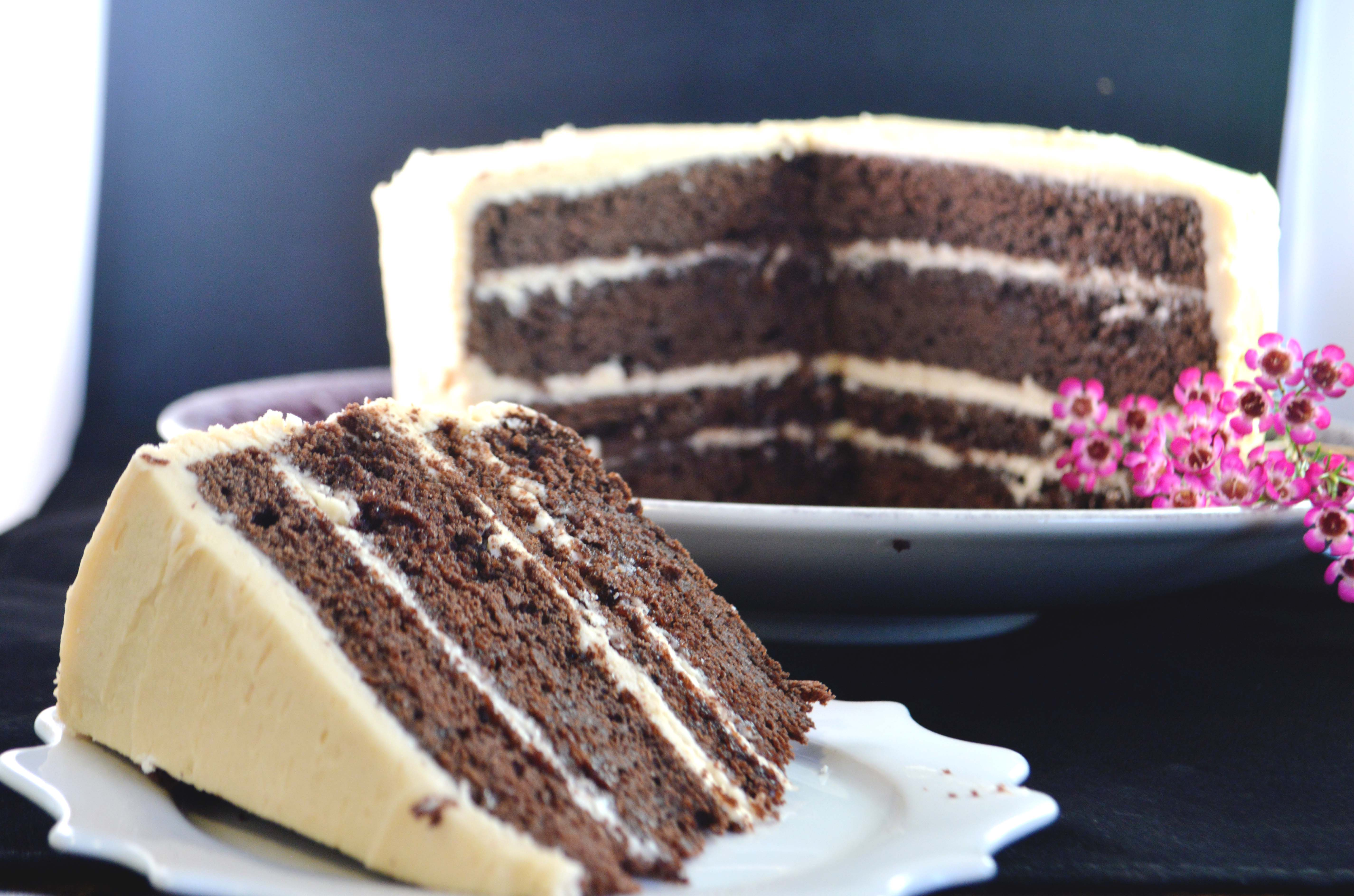 Amarula Chocolate Stout Cake | runner's table